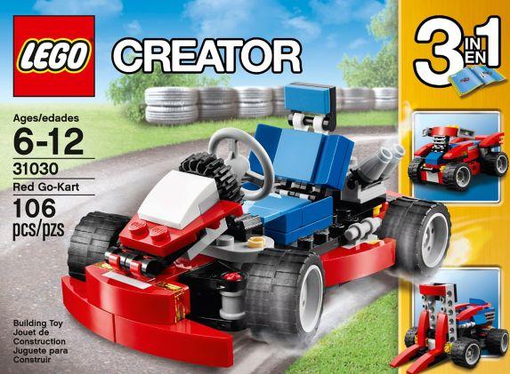 LEGO Creator, Les créatures rouges, 221 pièces