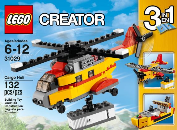 LEGO Creator, Le bolide bleu, 67 pièces Image de l'article