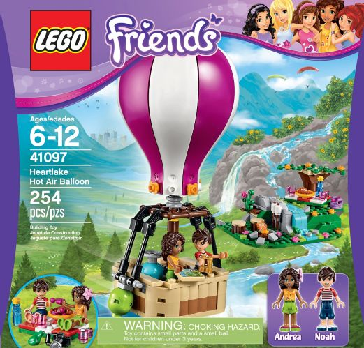 Lego Friends La montgolfière d'Heartlake City, 254 pièces Image de l'article