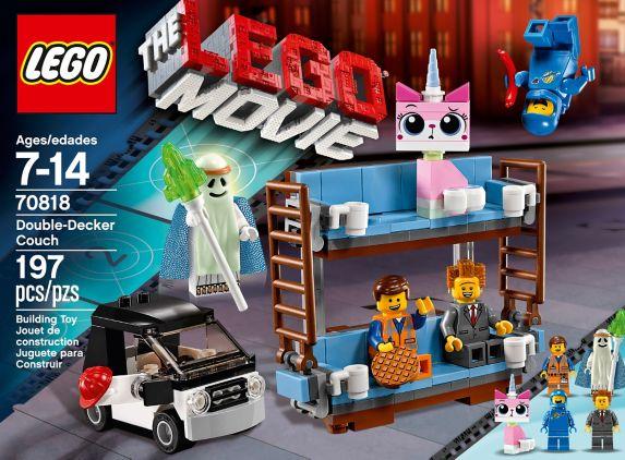 LEGO Movie, Le palais des nuages, 197 pièces Image de l'article