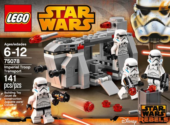 LEGO® Star Wars Homing Spider Droid, 102-pcs Product image