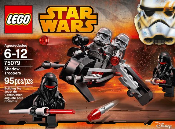 LEGO® Star Wars Senate Commando Troopers, 106-pcs