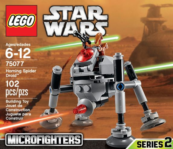 LEGO Star Wars, Homing Spider Droid Image de l'article