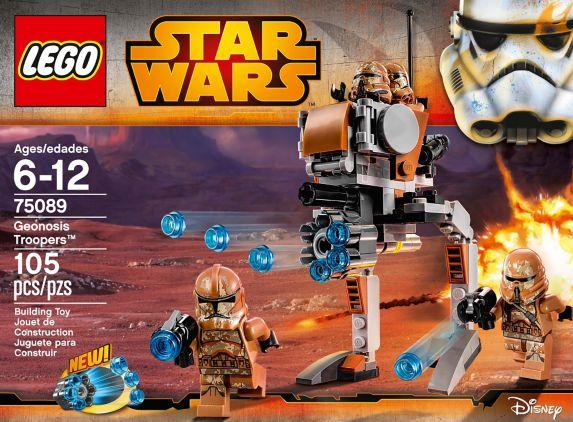 LEGO® Star Wars General Grievous' Wheel Bike, 261-pcs Product image