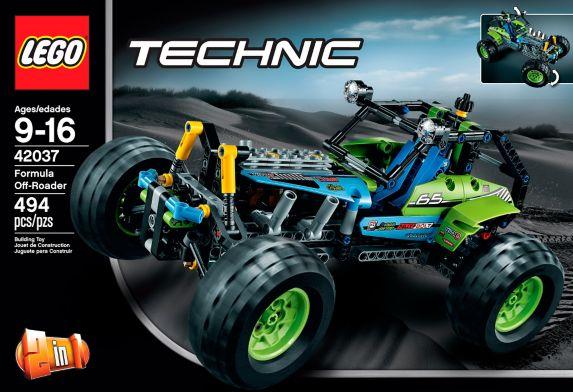 LEGO® Technic Formula Off-Roader, 494-pc Product image