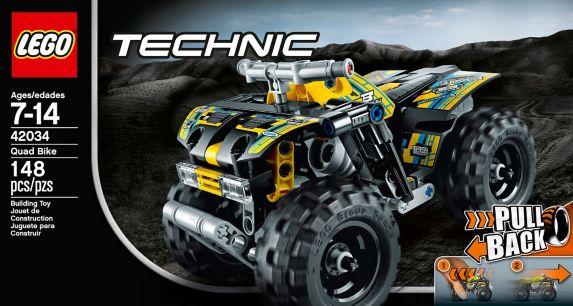 LEGO Technic, Le quad, 148 pièces Image de l'article