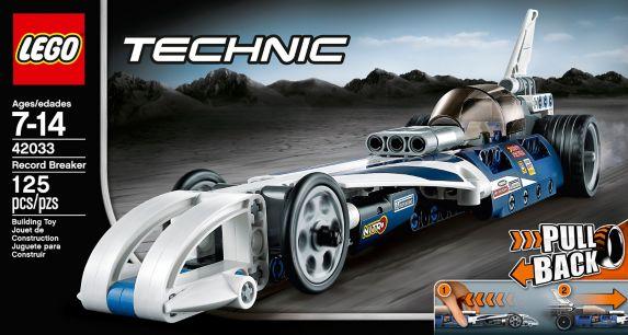 LEGO Technic, Le bolide imbattable, 125 pièces Image de l'article