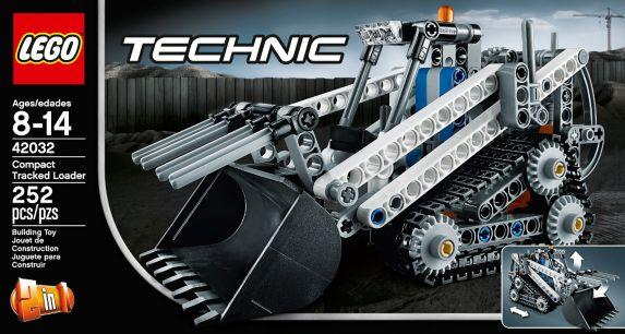 LEGO Technic, Chargeuse compacte sur chenilles, 252 pièces Image de l'article