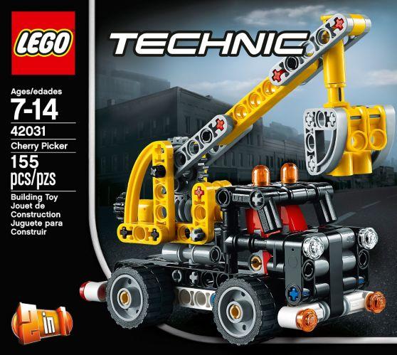 LEGO Technic, Le camion nacelle, 155 pièces Image de l'article