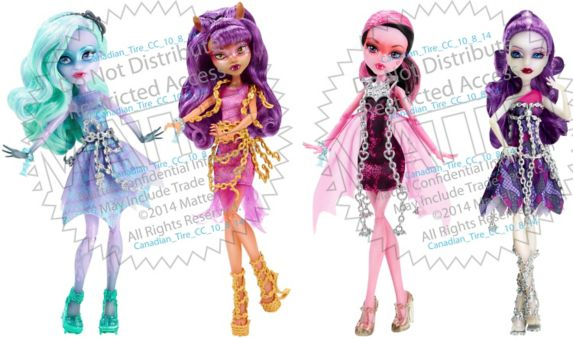 Monster High Haunted Doll, Assorted