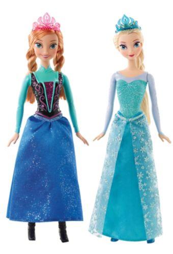 Disney Frozen Sparkle Dolls, Anna or Elsa Product image