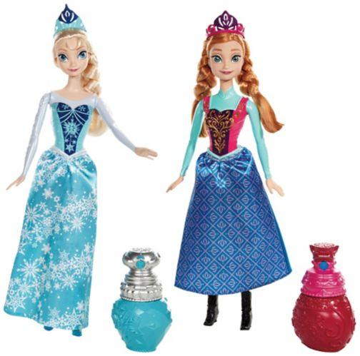 Poupées aux couleurs royales Disney La reine des neiges