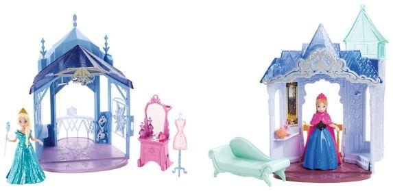Château Flip and Switch Disney La Reine des neiges