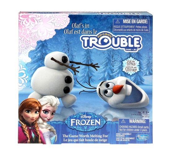 Disney Frozen Olaf's in Trouble Game Product image