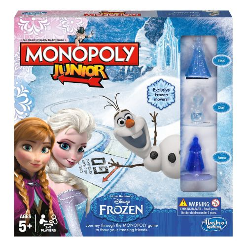 Monopoly Junior édition La Reine des neiges Image de l'article
