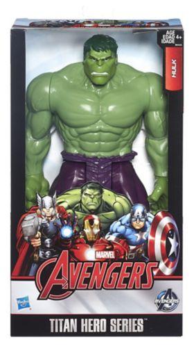Figurine Hulk de Marvel Avengers, série Titan Hero