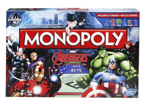 Monopoly édition Marvel Avengers Image de l'article