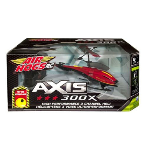 Hélicoptères Air Hogs Axis 300X, assortis Image de l'article
