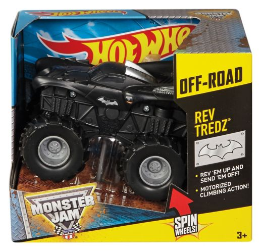 Assortiment de véhicules Hot Wheels Monster Jam Rev Tredz
