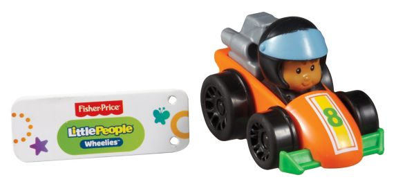 Fisher Price Little People Wheelies, Assorted Product image