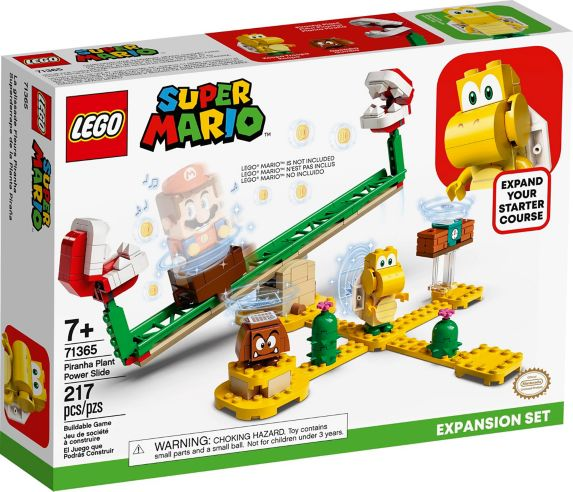 LEGO® Super Mario Piranha Plant Power Slide Expansion Set - 71365 Product image
