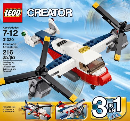 LEGO Creator, Le quad turbo, 186 pièces