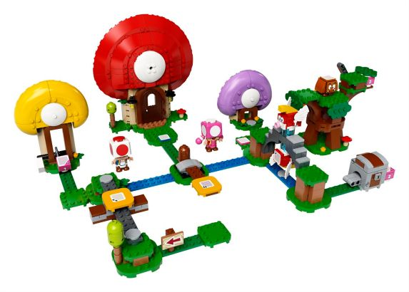 LEGO<sup>MD</sup> Super Mario Ensemble d'extension chasse au trésor de Toad – 71368 Image de l'article
