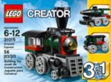 LEGO Creator, L'hélicoptère cargo, 132 pièces | Legonull
