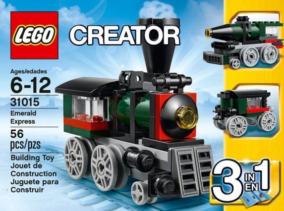 LEGO Creator, L'hélicoptère cargo, 132 pièces Image de l'article