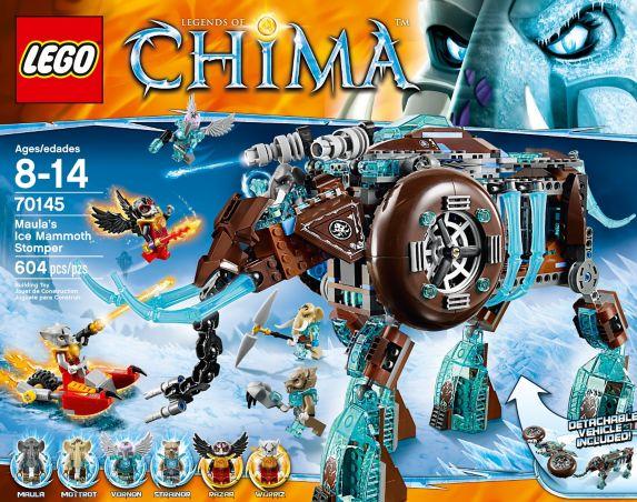 LEGO® Legends of Chima Lion Tribe Pack, 78-pcs