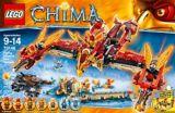 LEGO Legends of Chima, Phénix de feu, 172 pièces | Legonull