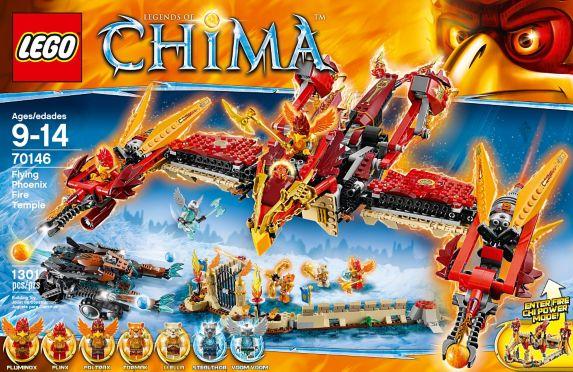 LEGO Legends of Chima, Phénix de feu, 172 pièces Image de l'article