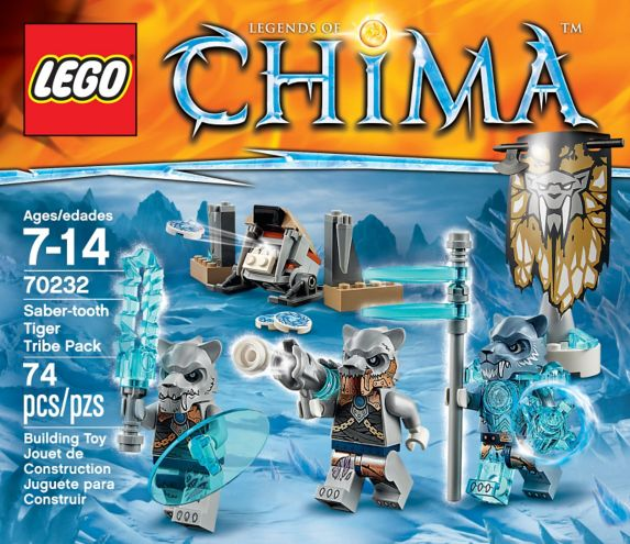 LEGO Legends of Chima, La base mobile de combat, 712 pièces Image de l'article