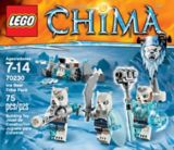LEGO® Legends of Chima Flying Phoenix Fire Temple, 1301-pcs | Legonull