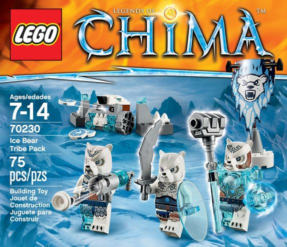 LEGO® Legends of Chima Flying Phoenix Fire Temple, 1301-pcs Product image