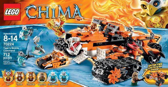 LEGO Legends of Chima, Le mammouth des glaces, 604 pièces Image de l'article