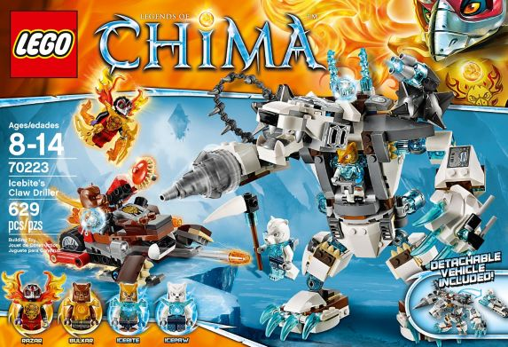 LEGO® Legends of Chima Ice Bear Tribe Pack, 75-pcs Product image