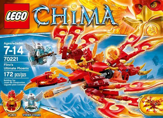 LEGO® Legends of Chima Crocodile Tribe Pack, 72-pcs