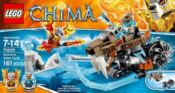 LEGO Legends of Chima, Robot tigre de Sir Fangar, 415 pièces