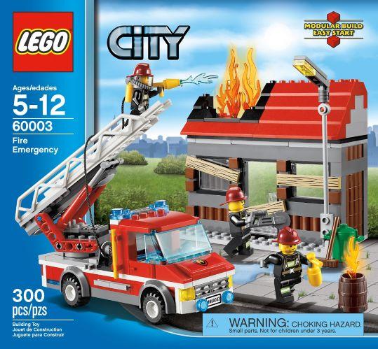 LEGO City, L'excavatrice et le camion, 311 pièces