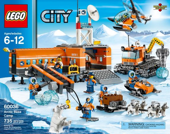 LEGO® City 4x4 with Powerboat, 301-pcs