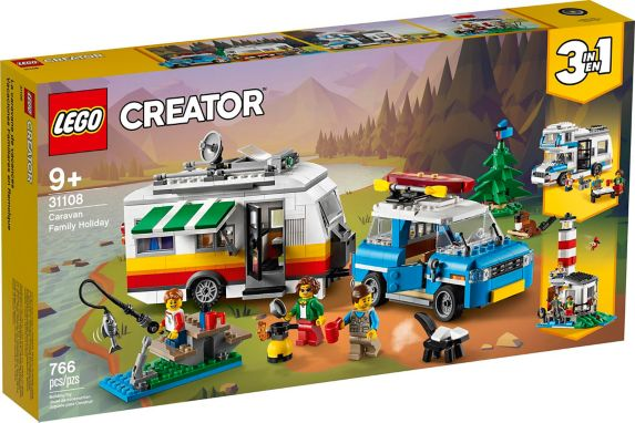 LEGO® Creator 3-in-1 Caravan Family Holiday - 31108 Product image