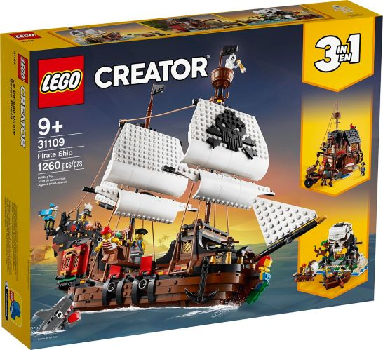LEGO® Creator 3-in-1 Pirate Ship - 31109 Product image