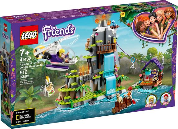 LEGO<sup>MD</sup> Friends – Sauvetage d'alpagas Jungle Montagne – 41432 Image de l'article