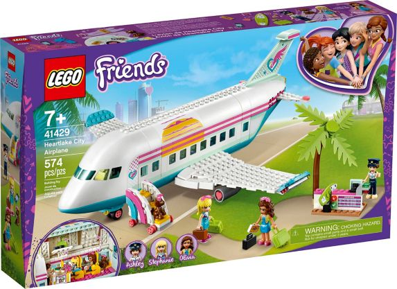 LEGO® Friends Heartlake City Airplane - 41429 Product image