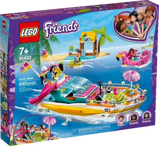 LEGO® Friends Party Boat - 41433 Product image