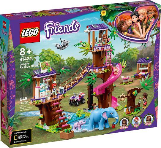 LEGO<sup>MD</sup> Friends, La base de sauvetage dans la jungle