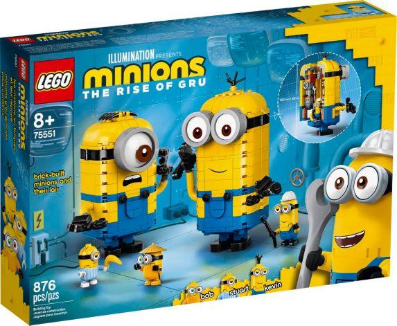 LEGO Minions, construction de briques et repère, 75551 Image de l'article