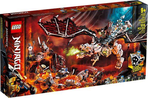 LEGO<sup>MD</sup> NINJAGO<sup>MD</sup>, Le dragon du Sorcier au Crâne – 71721 Image de l'article
