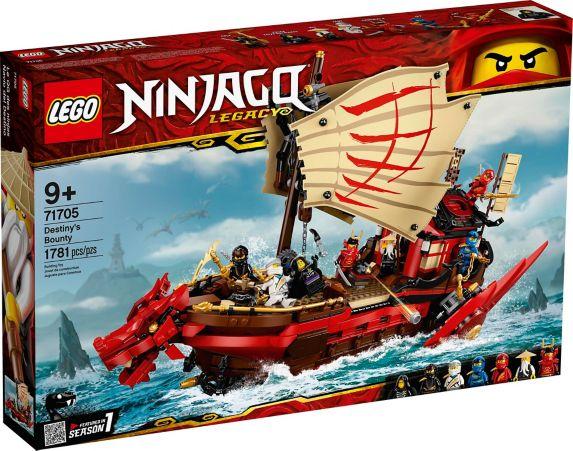 LEGO<sup>MD</sup> INJAGO<sup>MD</sup>, Le QG des ninjas – 71705 Image de l'article